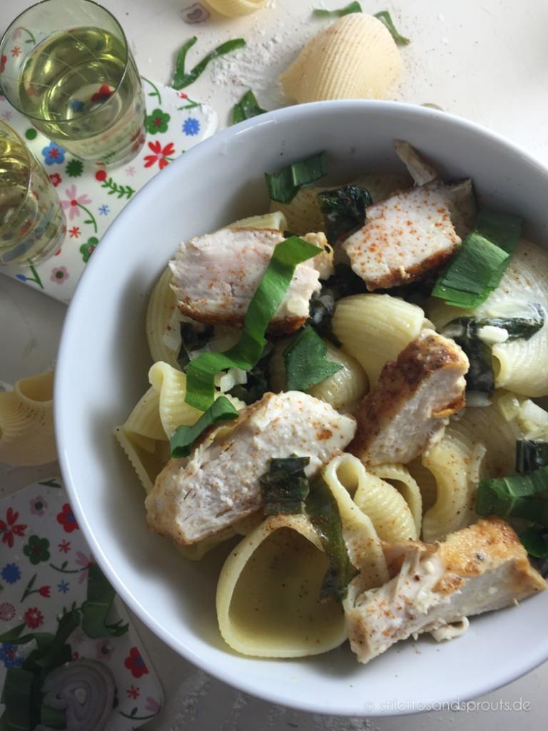 Bärlauch-Pasta