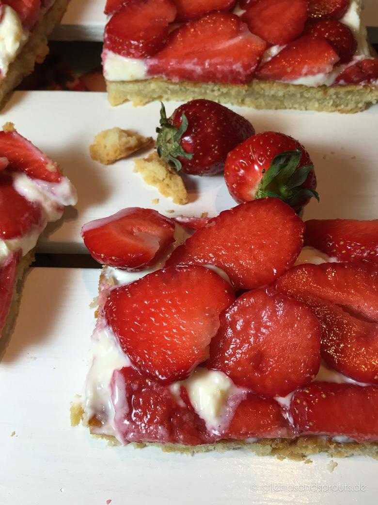 Erdbeer-Tarte mit Mascarpone
