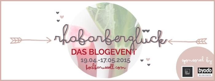 Blogevent Rhabarberglueck/