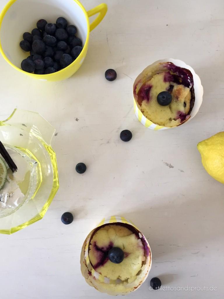 Blaubeer-Vanille-Schmand-Muffins