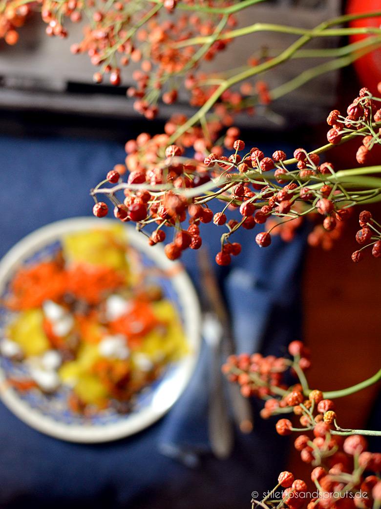 Herbstliche Maronen-Pasta