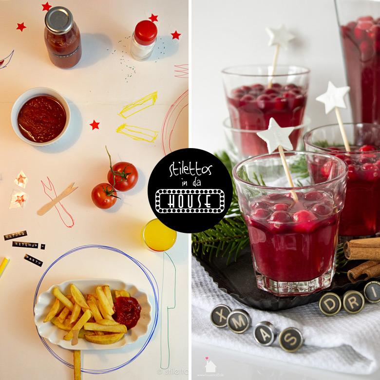 stilettos in da house presents ketchup party stilettos sprouts. Black Bedroom Furniture Sets. Home Design Ideas