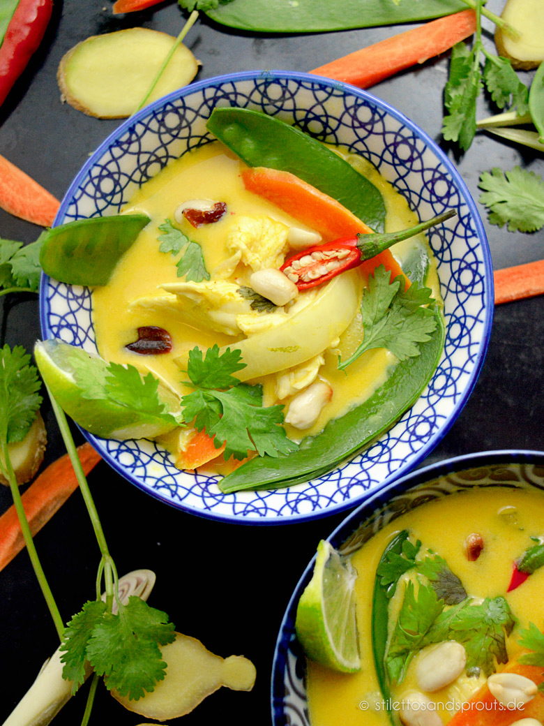 Gelbes Thai Curry
