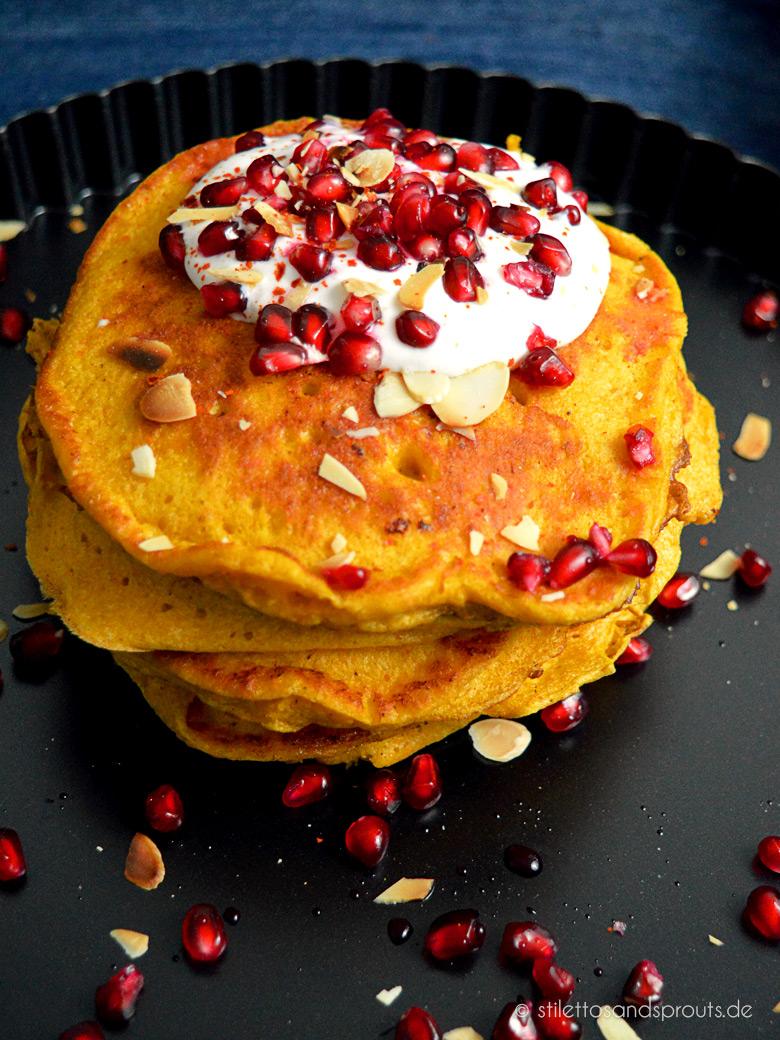 Kürbis-Pancakes