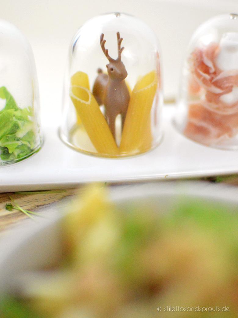 Pasta mit geröstetem Blumenkohl und Pancetta