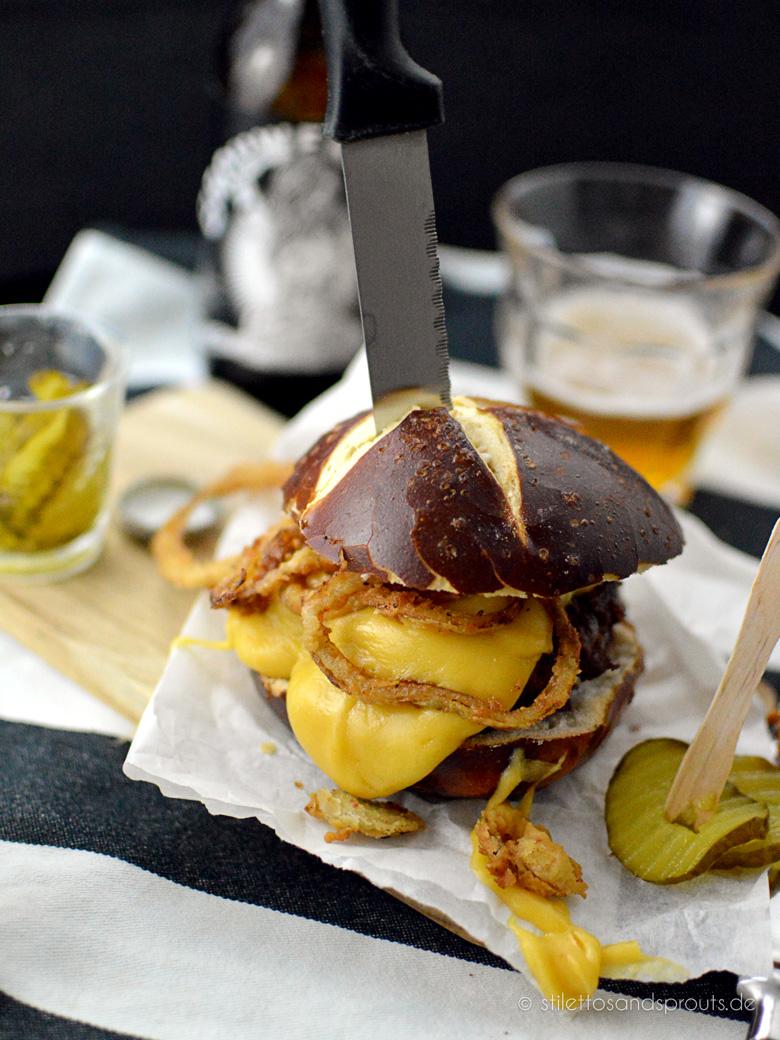 Beer Cheese Burger