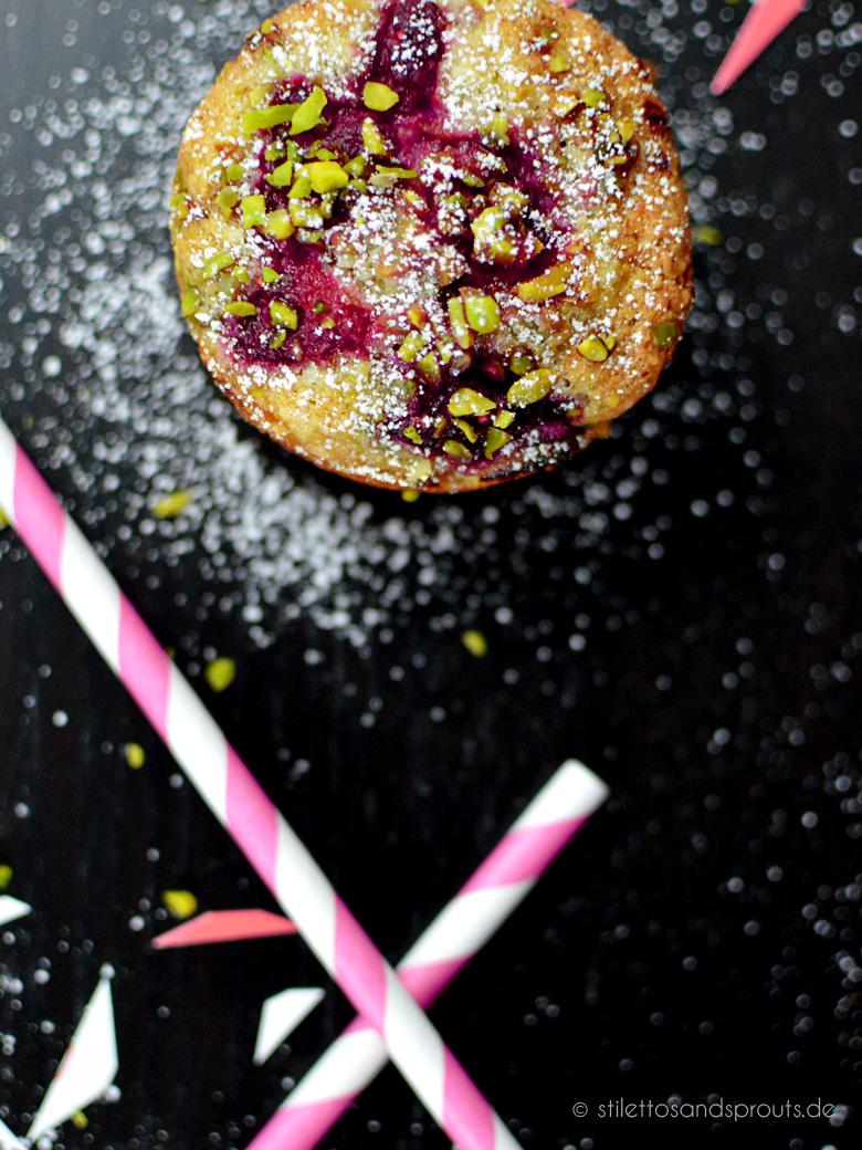 Himbeer-Pistazien-Muffins