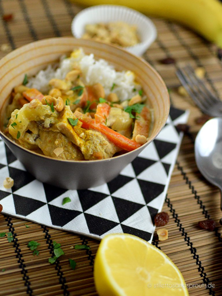 Indisches Chicken Curry