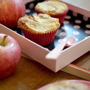 Herbstliche Apfel-Zimt-Muffins