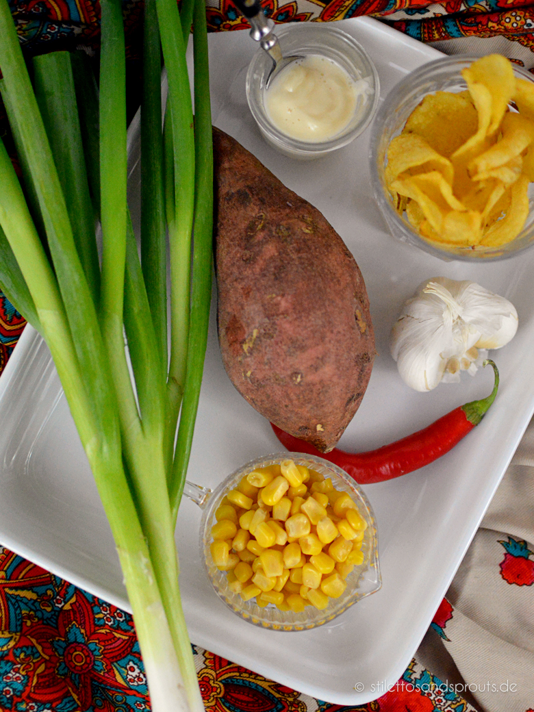 Süßkartoffelauflauf vegetarisch