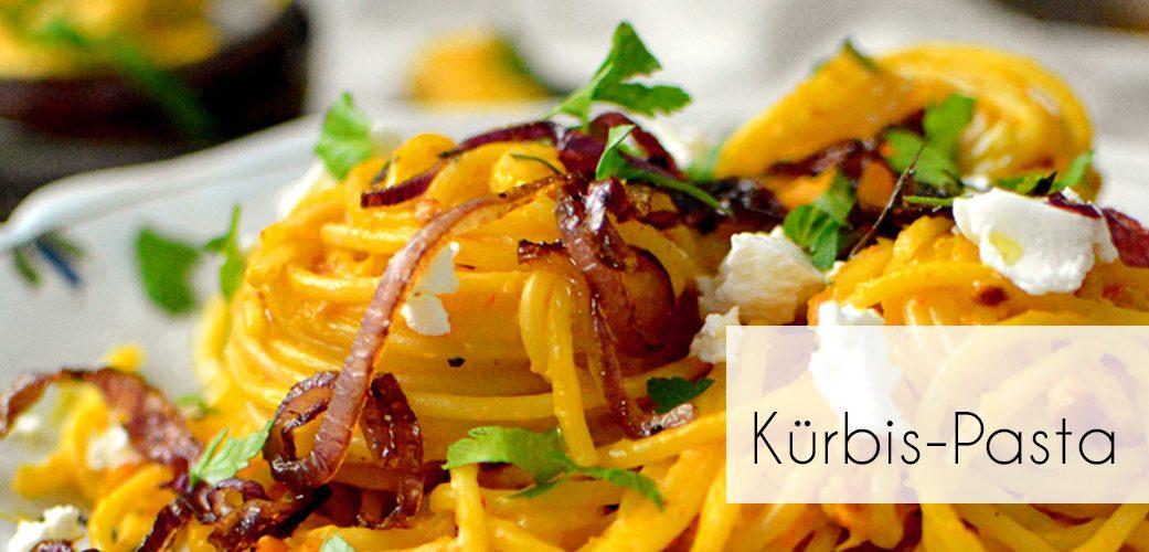 Veggie Kürbis-Pasta