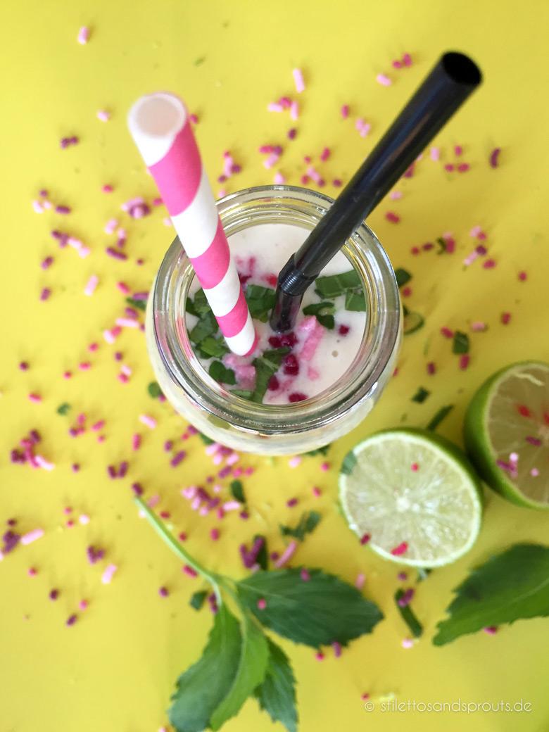 Kokos-Limetten-Drink