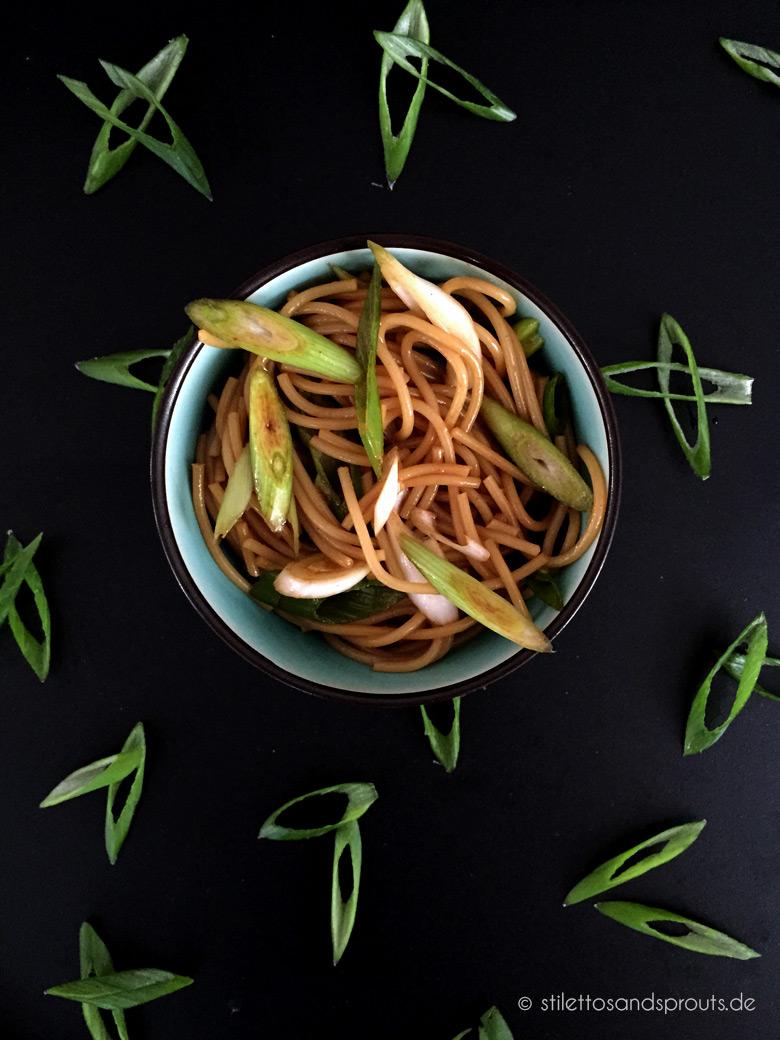 Spaghettisalat asiatisch