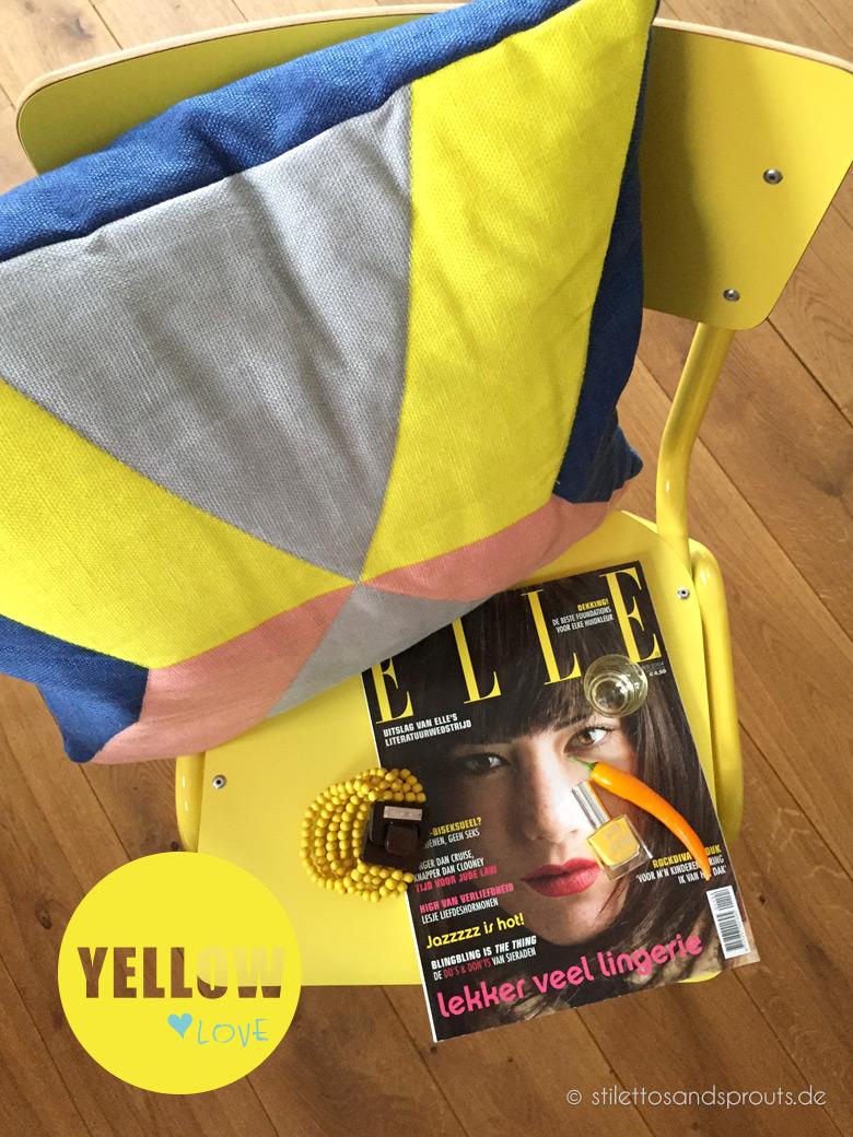 Trendfarbe 2015 Gelb