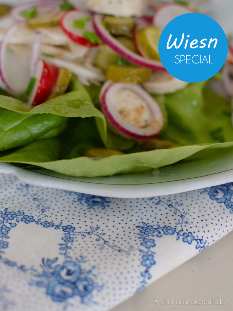 Wiesn-Special: Radi-Weißwurst-Salat