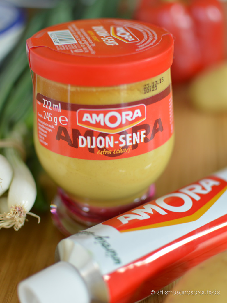 Gruener Kartoffelsalat mit Dijonnaise aus der Degustabox August