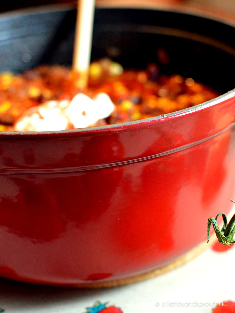 Chili Con Carne Nach Jamie Oliver Stilettos Sprouts