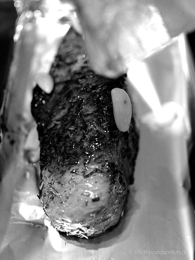 Roastbeef-Sandwich hinter den Kulissen