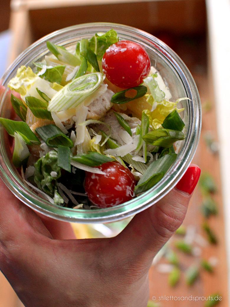 Ceasar Pasta Salad