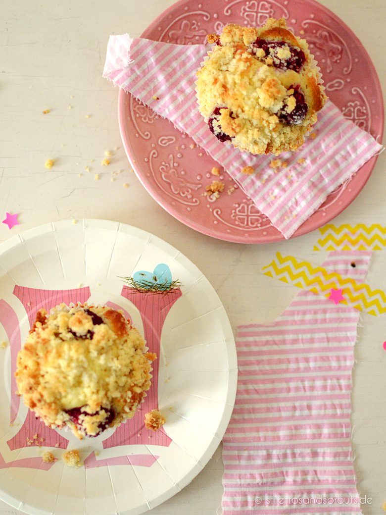 Himbeer-Streusel-Muffins