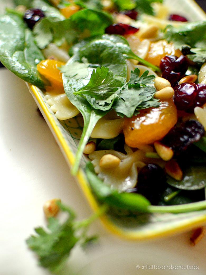 Mandarinen-Babyspinat-Salat