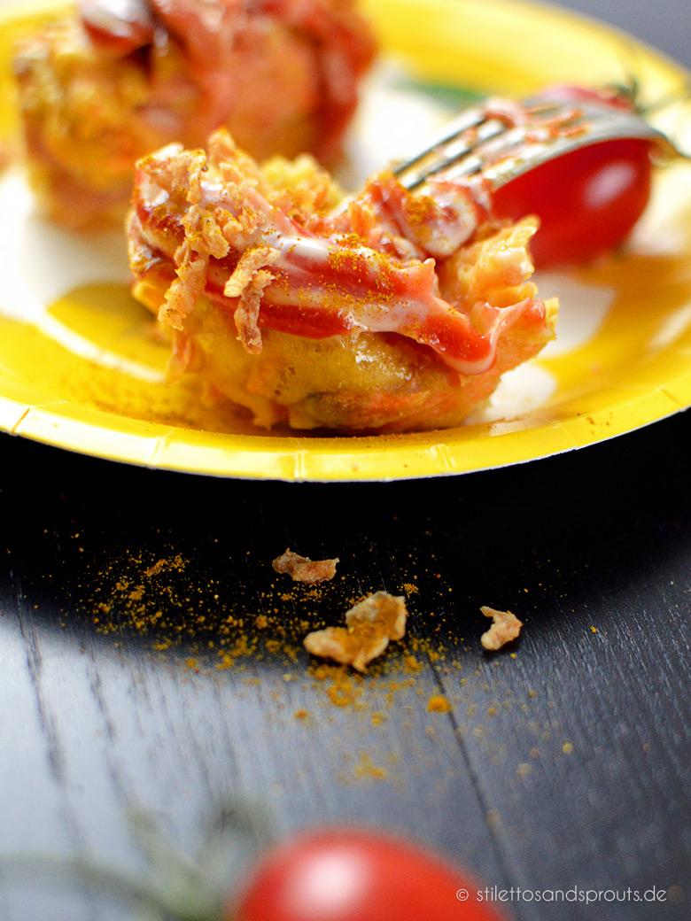 Currywurst Muffins