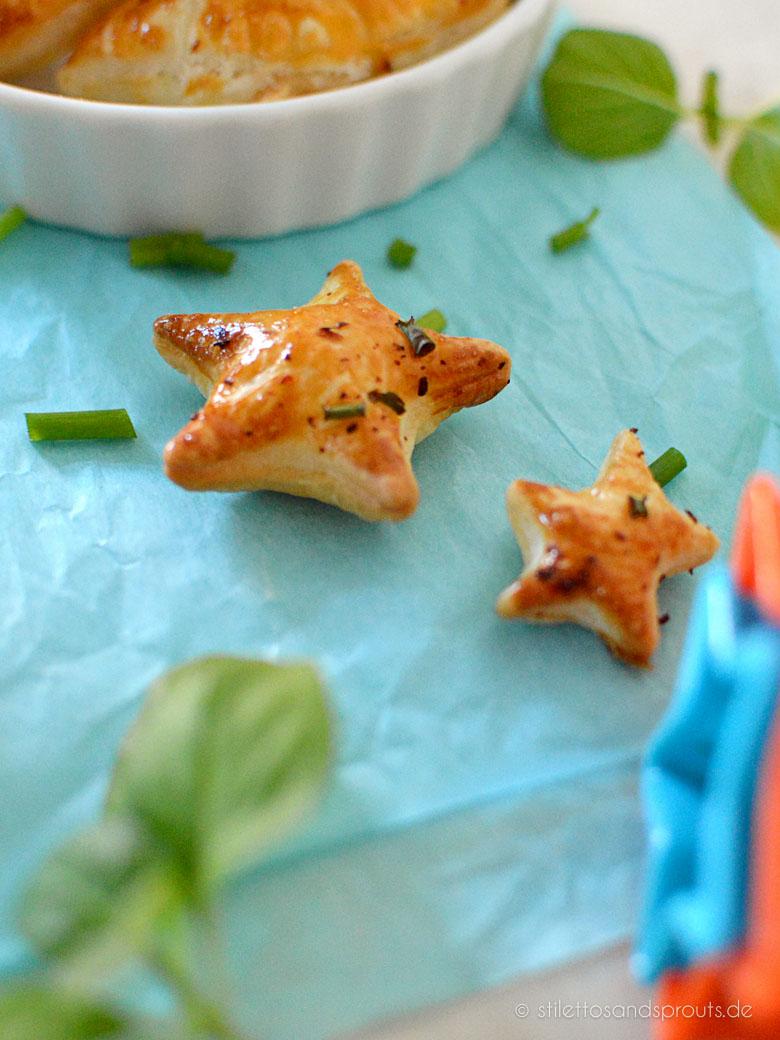 Empanadas mit Blätterteig