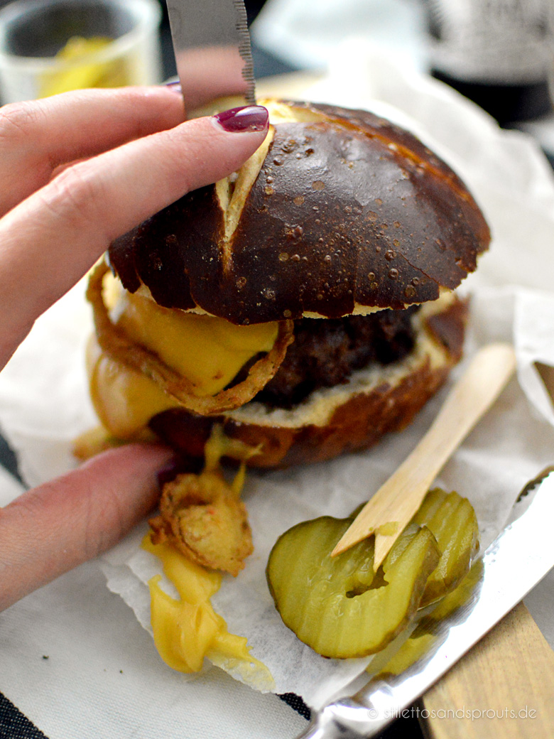 Beer Cheese Burger