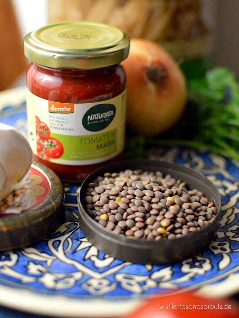 Vegetarische Linsen-Bolognese