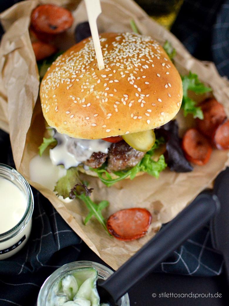 Kochkäs-Burger