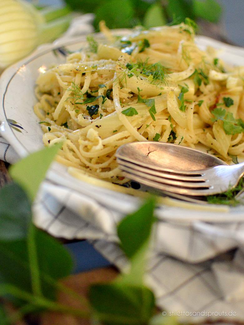 Vegane Fenchel-Pasta