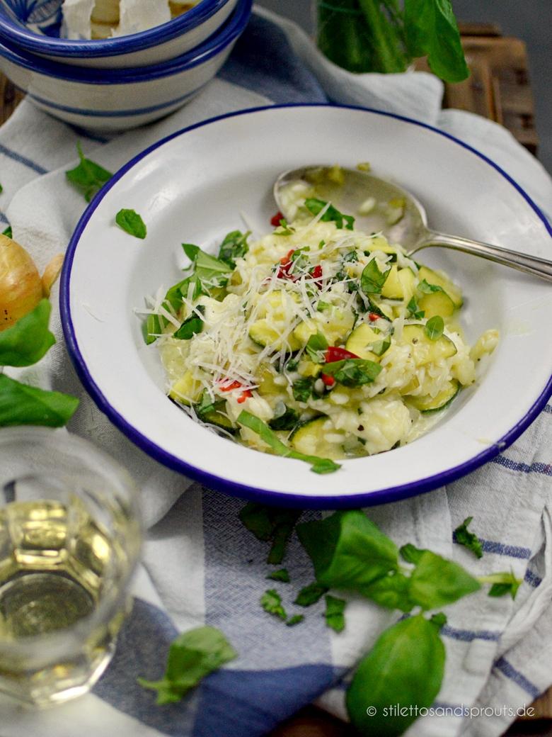 Jamie Oliver Zucchini Risotto