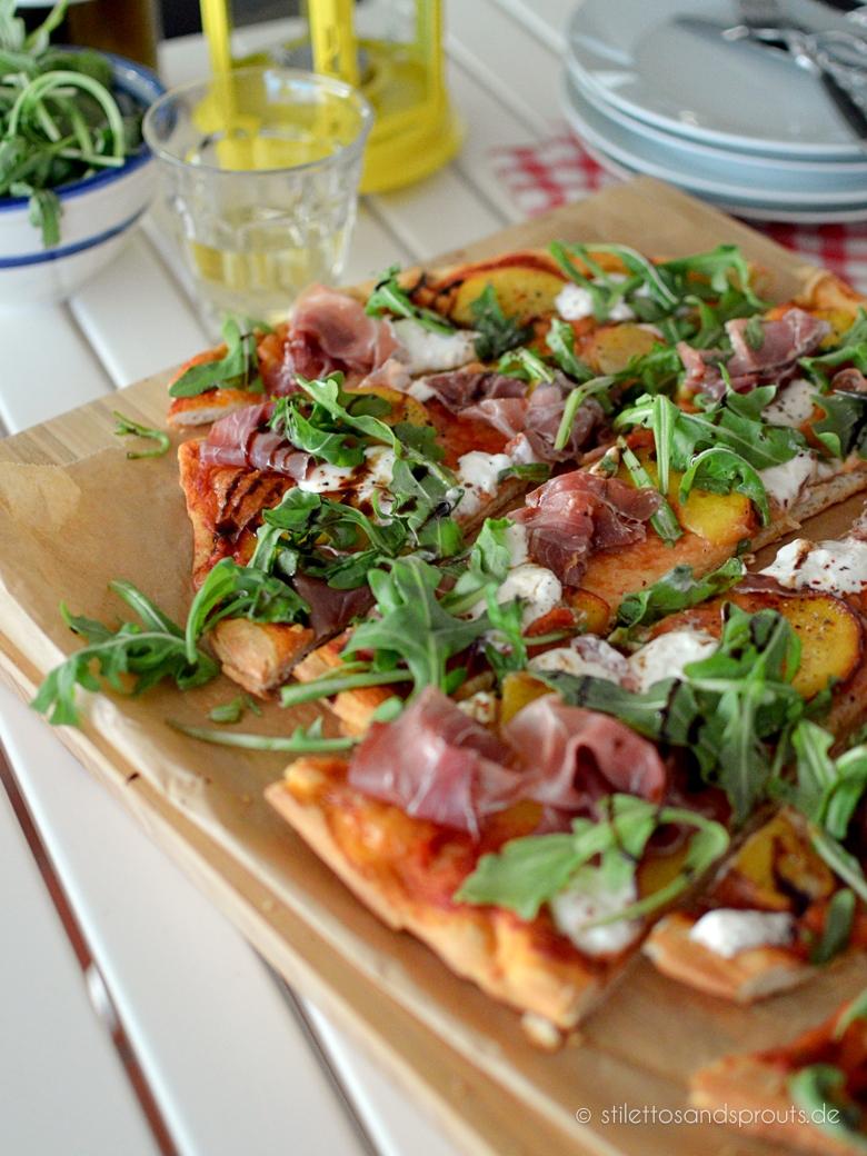 Sommer-Pizza