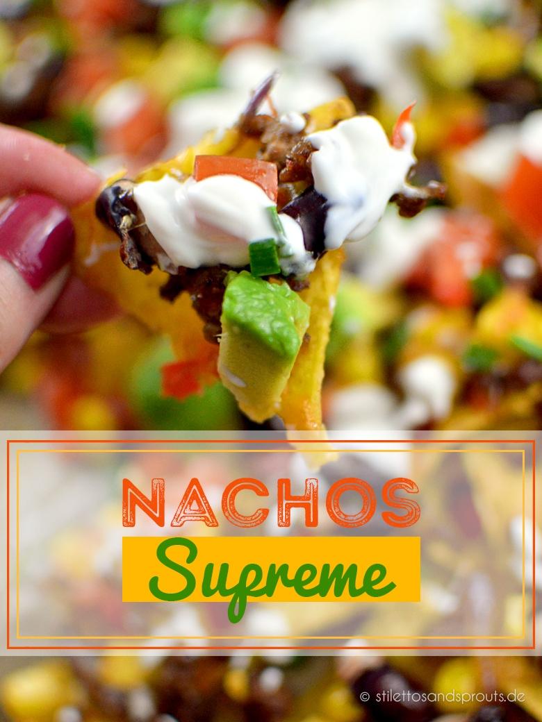 Überbackene Nachos Supreme