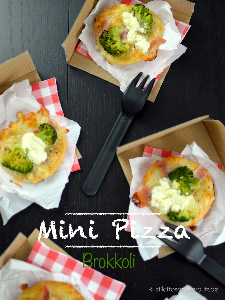 Mini Pizza Brokkoli