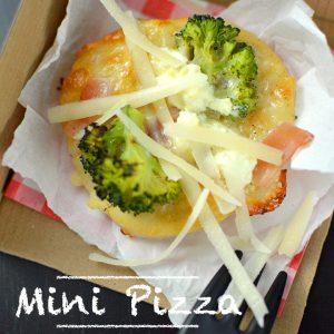 Mini Pizza Brokkoli