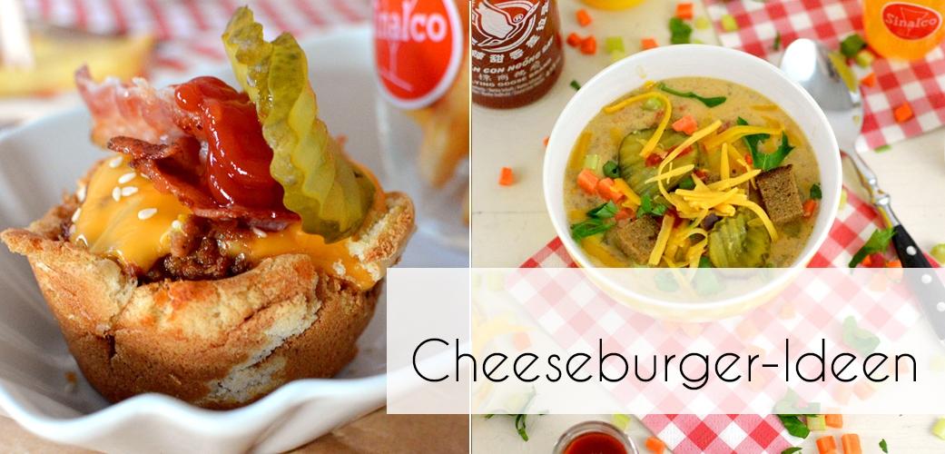 Cheeseburger Ideen