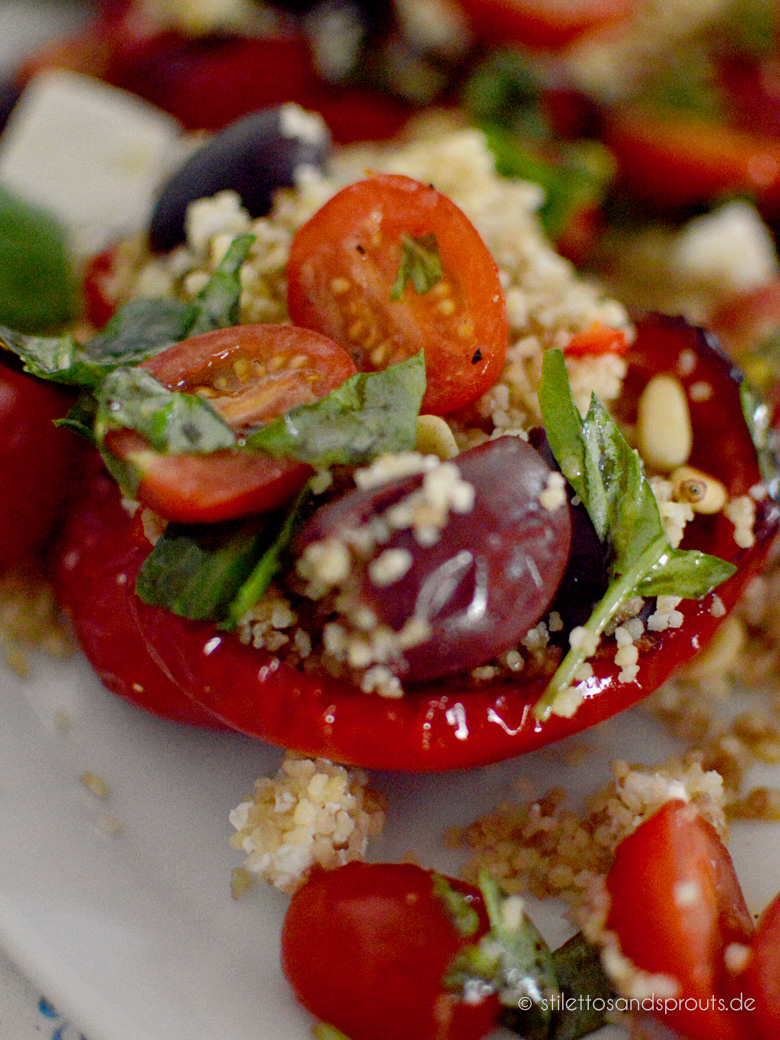 Gefüllte Paprika griechische Art