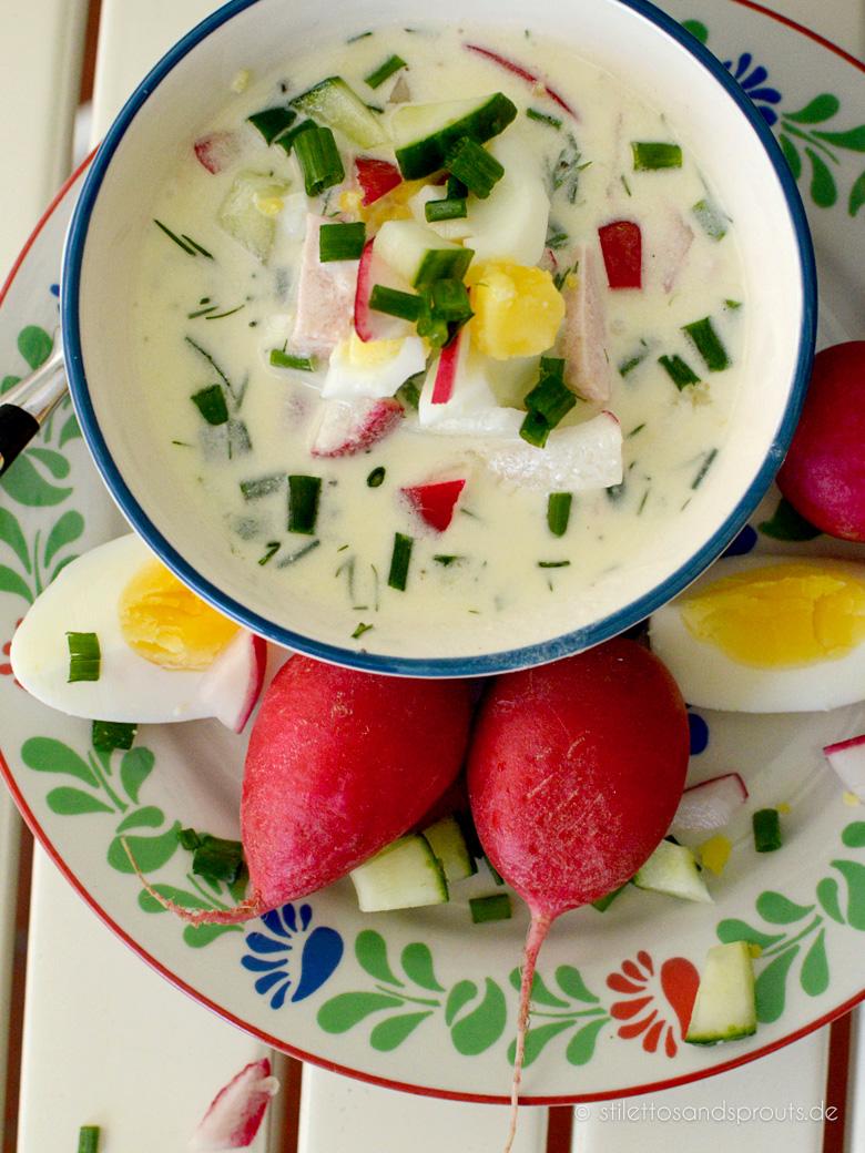 Kalte Russische Suppe