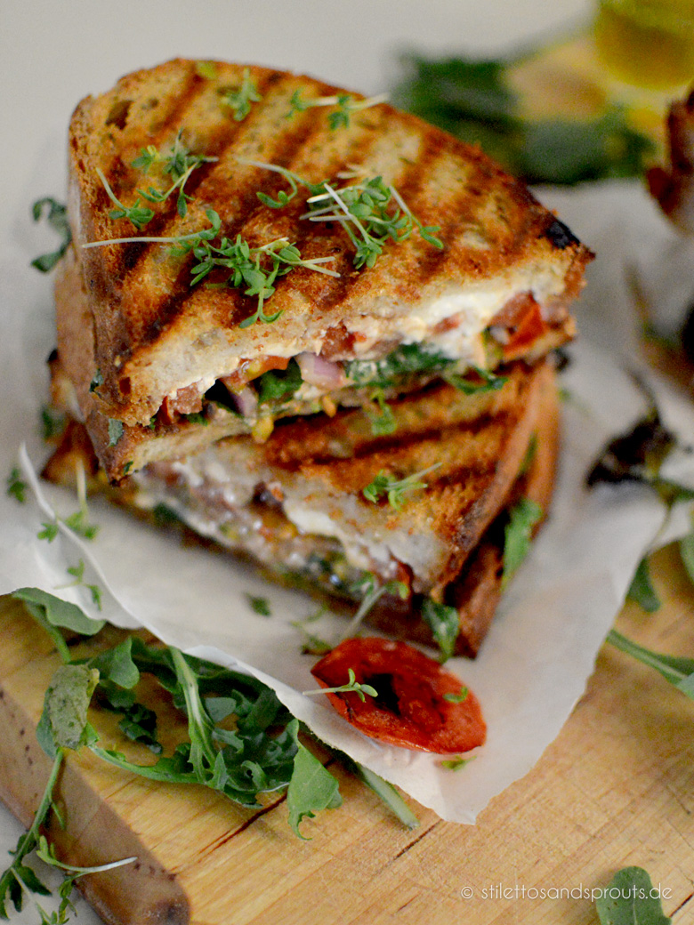 Feta Grilled Cheese Sandwich