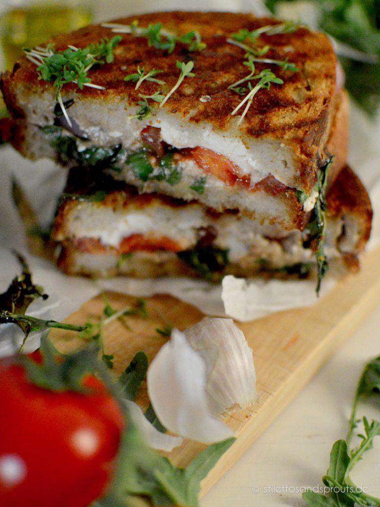 Feta Grilled Cheese Sandwich