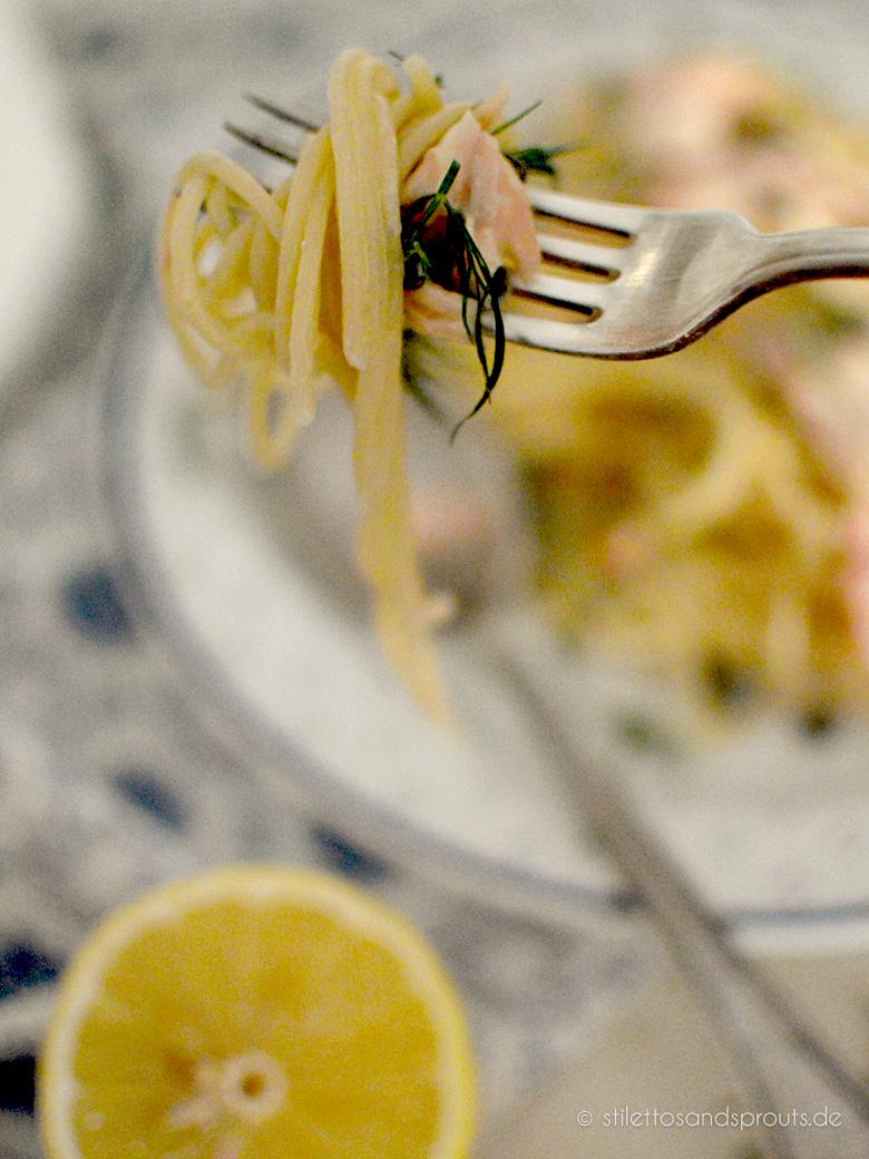 Donna Hay Zitronen-Lachs-Pasta