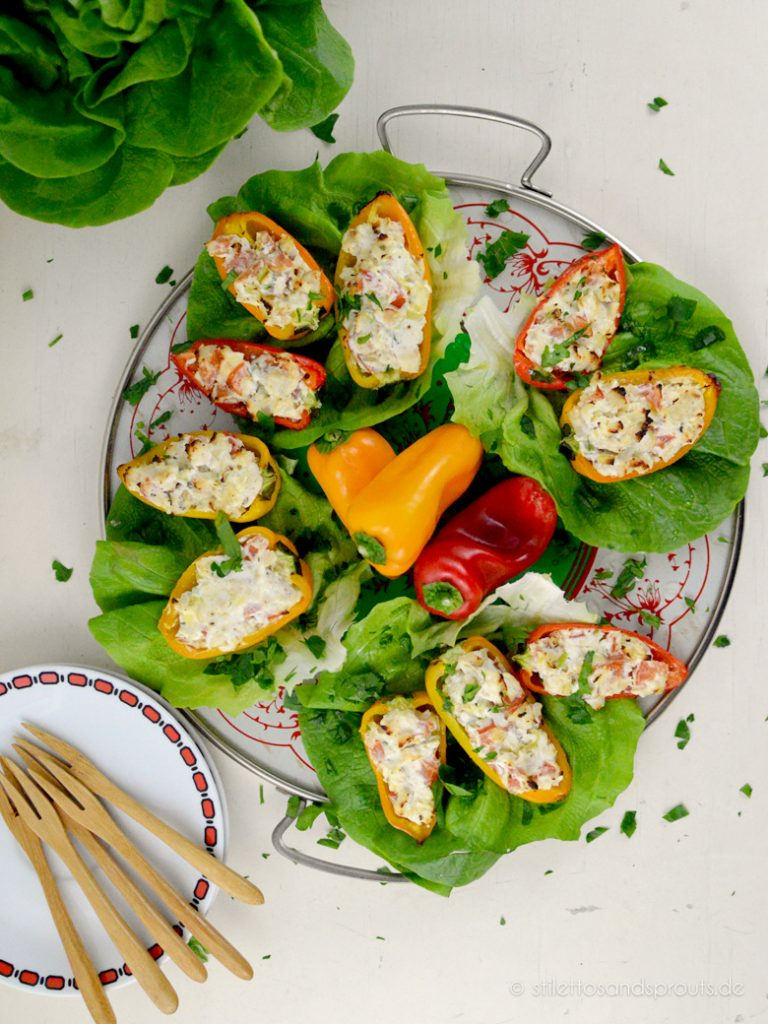 Partyfood darf auch mal gesund und low carb sein – die Gäste werden es lieben!