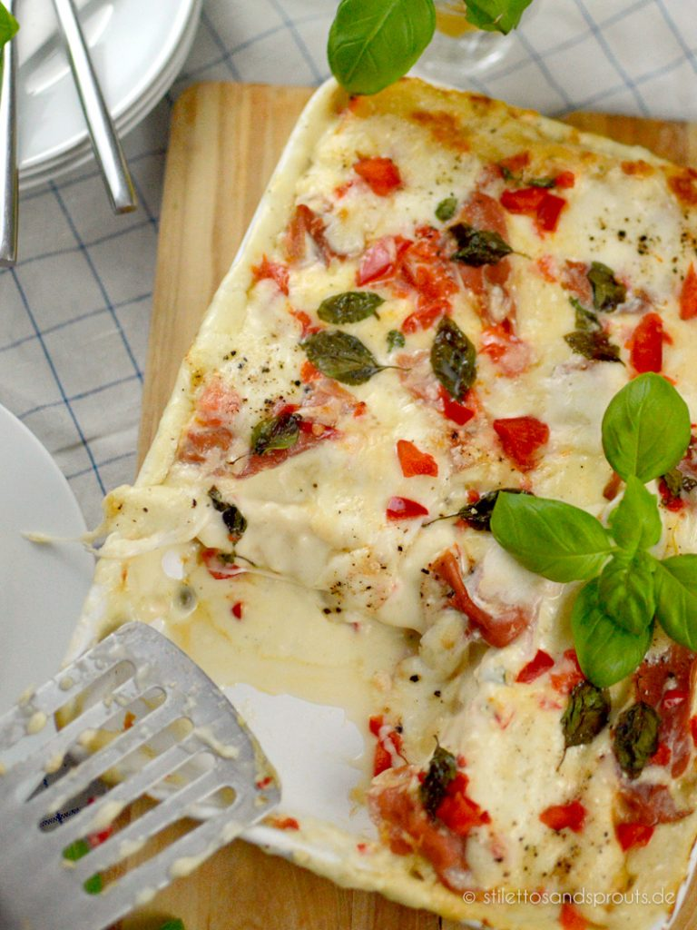 Cannelloni mit Ricotta sind ein Essen für die ganze Familie
