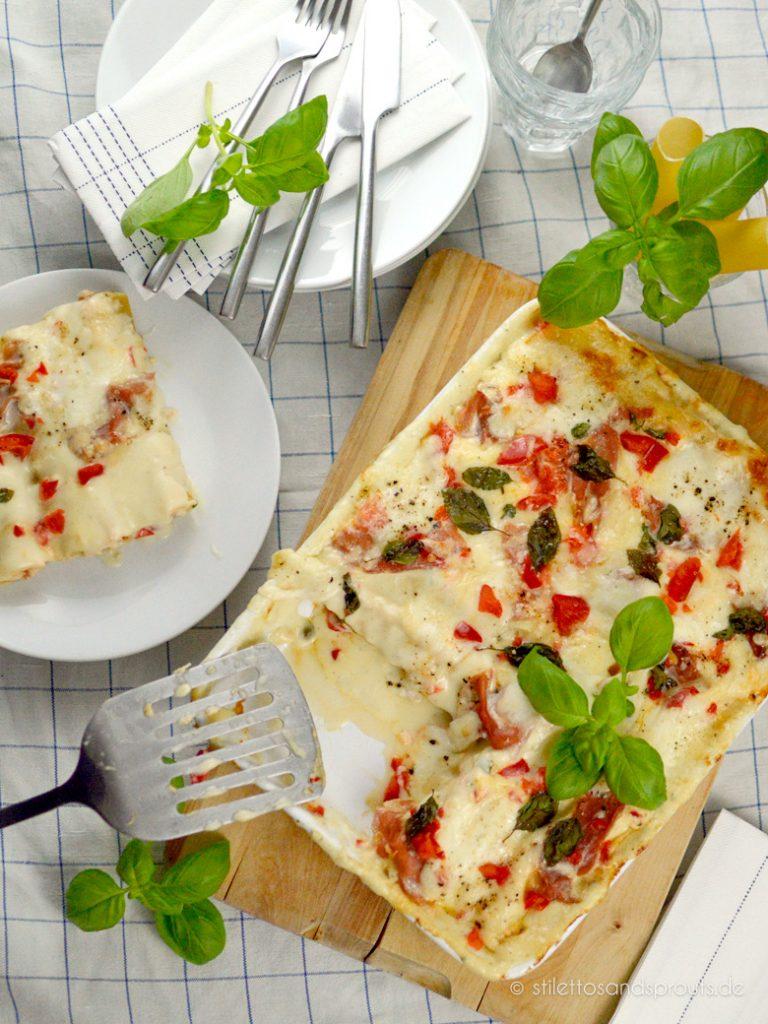 Von diesem Pasta-Rezept aus dem Ofen können bis zu vier Personen satt werden