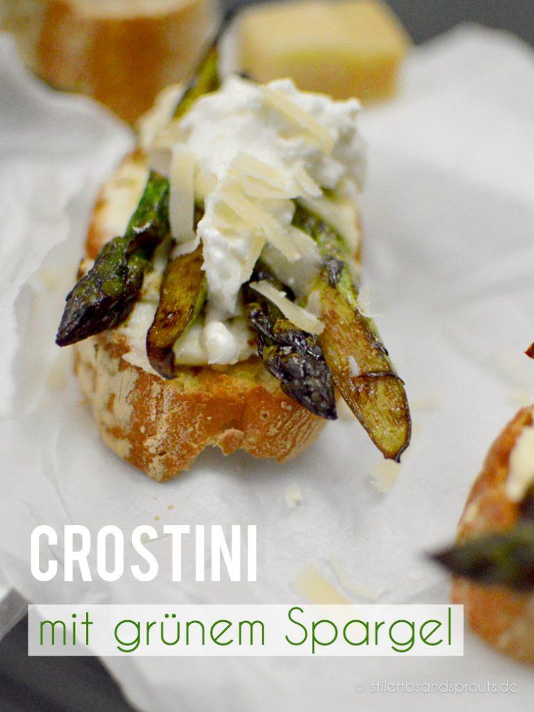 Herrlich kross und cremig: Spargel-Crostini