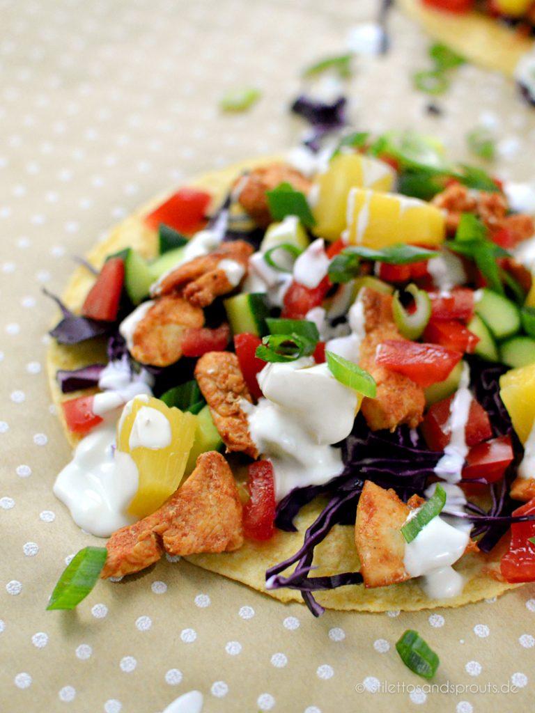 Diese Tacos mit Hühnchen sind super gesund und fettarm