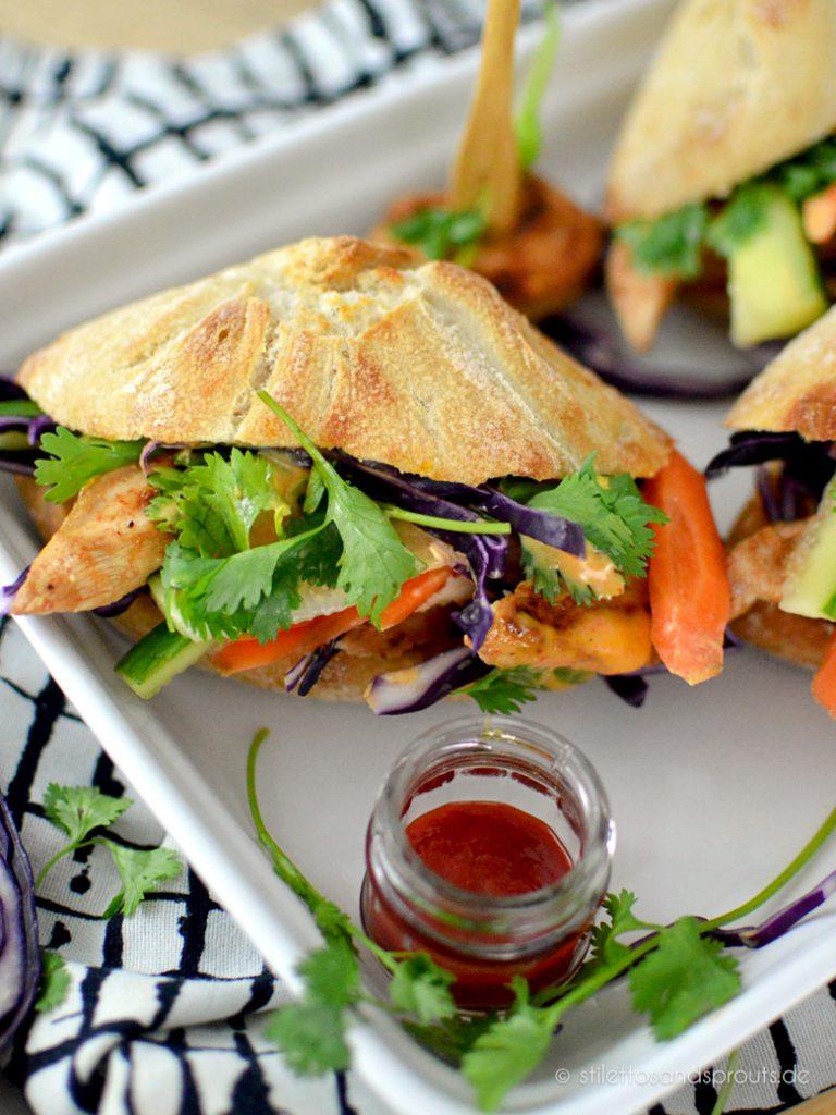 Ein gesundes vietnamesisches Sandwich