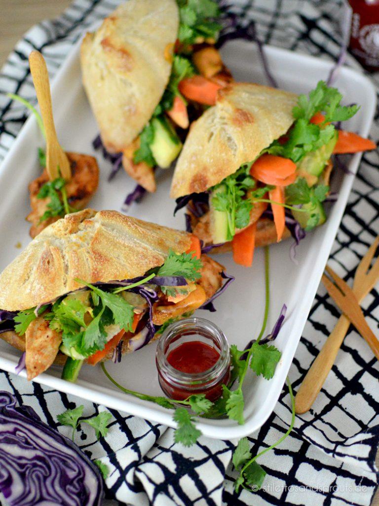 Banh Mi Sandwiches sind auch ein Fest fürs Auge