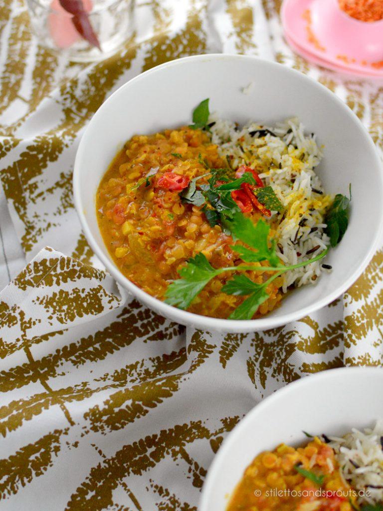 Indisches Linsen Curry